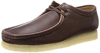 Clarks Men's Wallabee, Brown Leather, 7 D - Medium (B00IJLU6C4) | Amazon price tracker / tracking, Amazon price history charts, Amazon price watches, Amazon price drop alerts