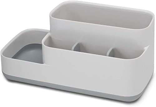 Joseph Joseph Easy-Store Bathroom Caddy, Grey/White