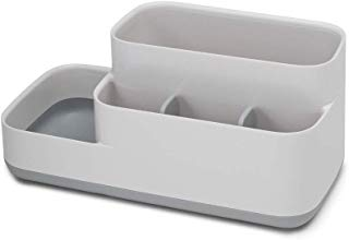 Joseph Joseph 70513 EasyStore Bathroom Storage Organizer Caddy Countertop, Gray