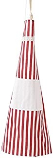 Kitchen Apron Adults Apron Women Men Dinner Party Cooking Apron Easy Cleaning Kitchen Accessories Anti-oil Cooking Apron (red)