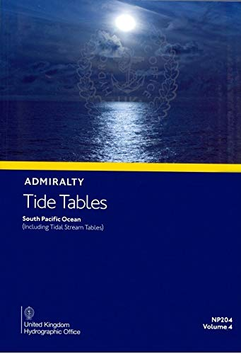 Admiralty Tide Tables Vol 4 - South Pacific Ocean 2020: 4