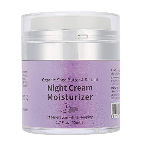 Crema facial refrescante Crema de noche antiarrugas Crema reductora de arrugas Crema de uso nocturno para mujeres para el cuidado facial