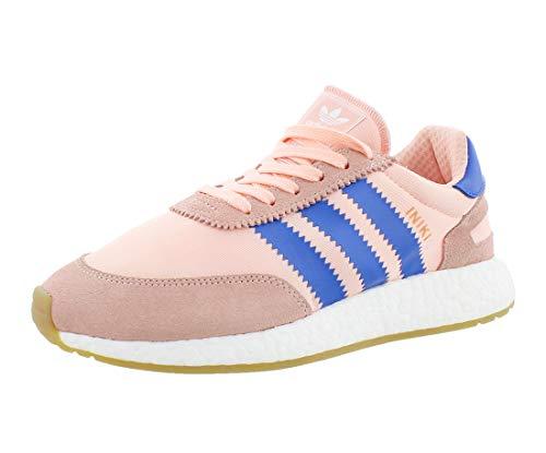 adidas Iniki Runner Zapatos de mujer, rosa (Haze Coral/Azul/Blanco), 37.5 EU