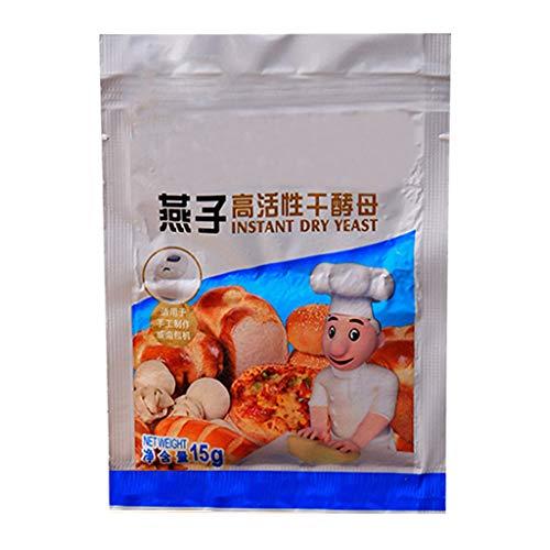 Dengheng 15 g Brothefe, aktive Trockenhefe, hohe Glukose-Toleranz, Küche, Backzubehör