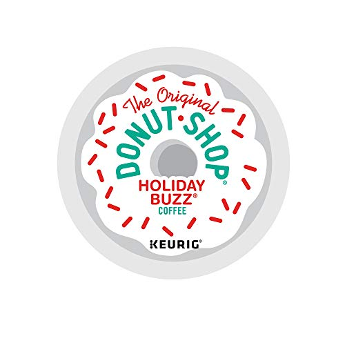96-Count The Original Donut Shop Medium Roast Coffee K-Cups (Holiday Buzz) $23.75 w/ S&S + Free Shipping