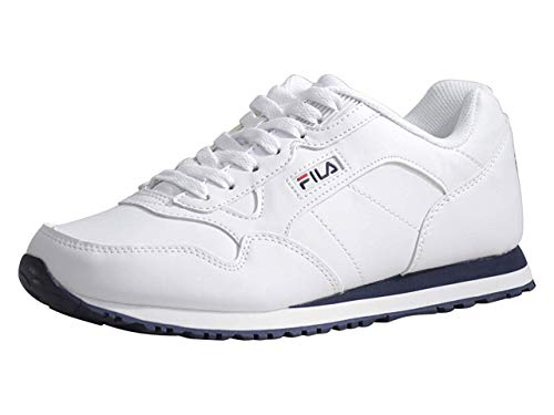 FILA Damen Cress Herren Sneaker, Mehrere (Weiß/Marineblau/Rot), 40 EU