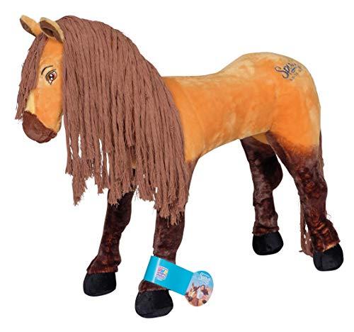 Dreamworks Spirit 58069 Spirit Wilde Mustang Reitpferd Spielzeug Pferd mit Soundeffekten für Kinder ab 3 Jahren