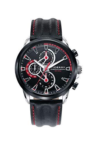 Viceroy Reloj Cronógrafo para Hombre de Cuarzo con Correa en Cuero 46731-57