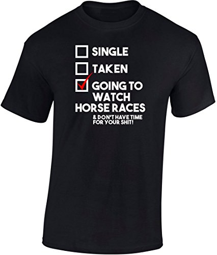 MGEAR gaan naar Horse Races Hobby Sport T-shirt T-shirt op maat tekst gedrukt tee presenteren