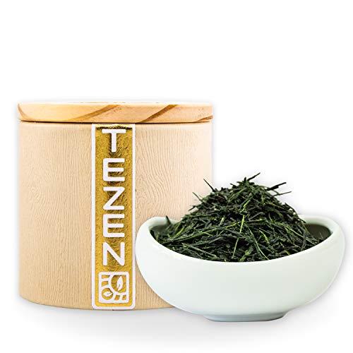 Bio Gyokuro Grüner Tee aus aus Kagoshima, Japan | Premium Gyokuro Tee aus traditionellem Anbau | Japanischer Gyokuro Tee von besten Teegärten (80g)