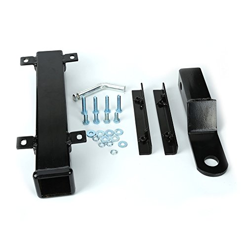 10L0L Rear Seat Trailer Hitch with Receiver for Step on Back of Golf Cart