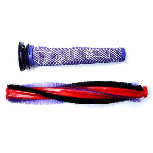 SHEAWA Cepillo de cepillo de repuesto para Dyson V6 Animal/Fluffy DC58 DC59 DC61 DC62 SV03 SV073 Series Partes de aspirador