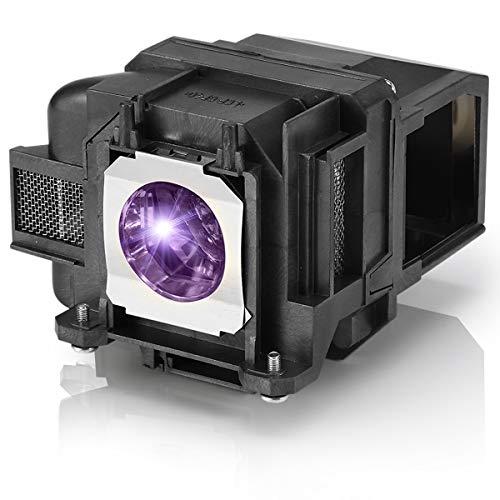 Aimdio V13H010L78 Lampada Proiettore Per Epson ELPLP78 EH-TW5100 EH-TW5200 EH-TW570 EH-TW410 EH-TW490 EB-S03 EB-W12 EB-S18 EB-W03 EB-W18 EB-X18 Videoproiettore con Alloggiamento