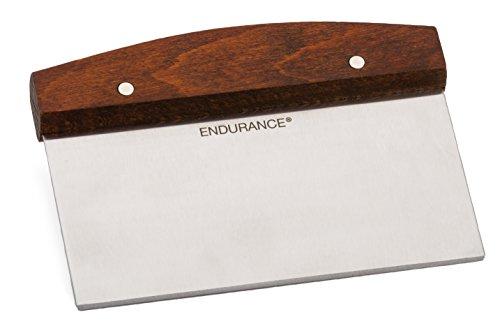 RSVP International Endurance Kitchen Collection Pastry Baking Accessories, 6 x 4.38 x 0.75, Bench...