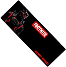 Vnxun Extended Gaming Mouse Pad with Stitched Edges, Long Extended Mousepad (31.5x11.8x0.12In), Desk Pad Keyboard Mat, Non-Slip Base, for Work & Gaming, Office & Home