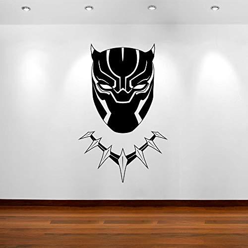 Geiqianjiumai Black Panther sticker masker strip slaapkamer vinyl kunst sticker wooncultuur kinderkamer wandafbeelding poster