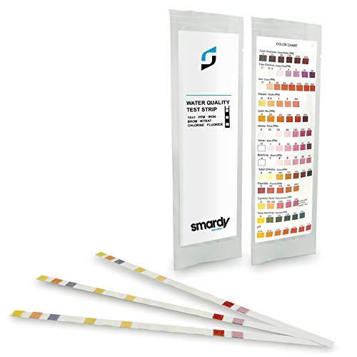 SMARDY 3X 13 IN 1 Ultra Wassertest Set für Trinkwasser - Aquarium schnelltest - einfache Überprüfung der Wasserqualität
