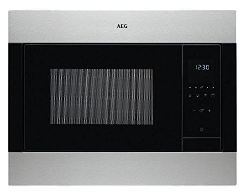 AEG msb2548C-m integrierter Mikrowelle kombinierten 23L 900W Schwarz, Edelstahl–Mikrowelle (integriert, kombinierten Mikrowelle, 23l, 900W, Haptik, Schwarz, Edelstahl)