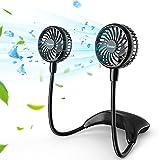 Best Portable Fans - 11000mAh Portable Personal Neck Fan, Wearable Personal Fan Review