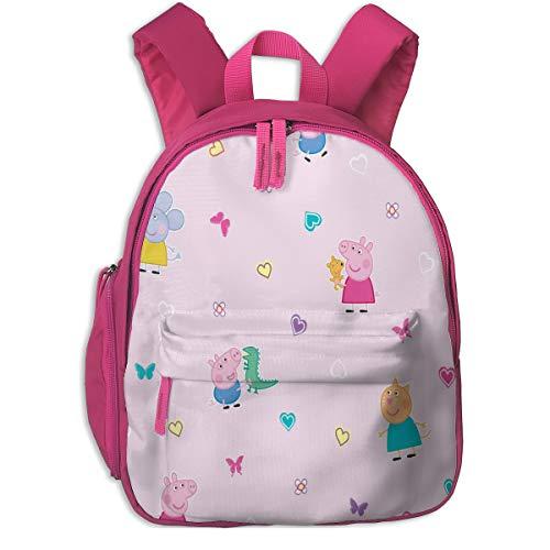 Kids Backpacks Pe-Ppa P-Ig Cute Backpacks For Teen Girls Backpacks For School Little Kid Book Bag For Preschool Kindergarten Elementary Durable Roomy Pockets 12inch