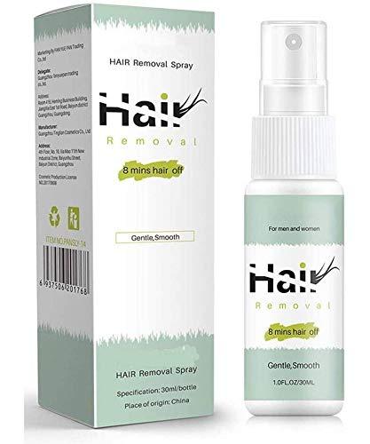 OADAA Semipermanentes Haarentfernungsspray, schmerzfreie Haarentfernung für Beine, Achselhöhlen, Lippen, Frauen und Männer für Gesicht oder Körper