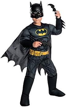 Rubie s Boys DC Comics Deluxe Batman Costume Small Multicolor