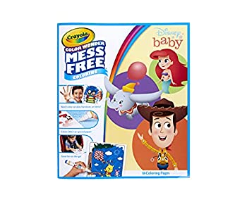 Crayola Color Wonder Disney Baby Characters Mess Free Coloring Pages Gift for Kids Age 3 4 5 6