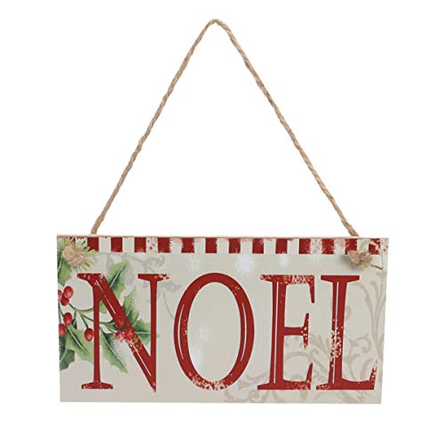 Letreros Madera Navidad Marca Holibanna