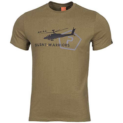 Pentagon Homme Ageron Helicopter T-Shirt Coyote Taille XXL