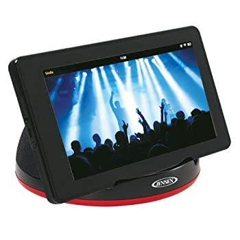 JENSEN SMPS-182 Stereo Speaker System for Tablets eReaders and Smartphones