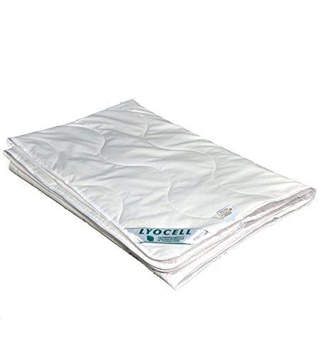 betten-traum-land Sommerhit% Sommerdecke super leicht 100% Natur Lyocell Tencel Baumwolle (135 x 200 cm)