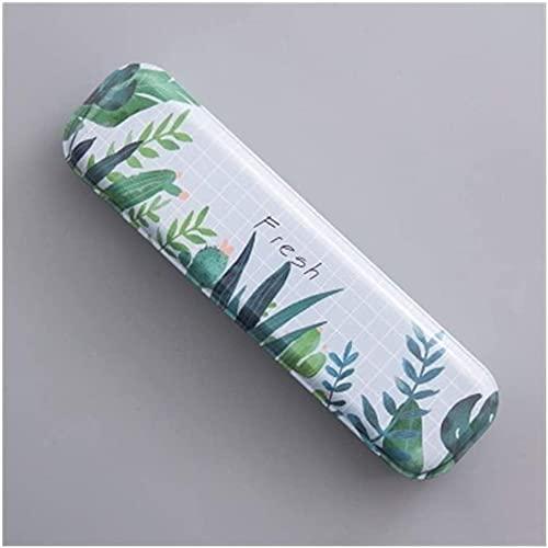 Minimalismo Hierro de hojalata Caja de papelería Creativa Caja de lápiz Lápiz Caja de lápices Escuela Estudiante Regalos Mantel, Limpio (Color : Loveliness)