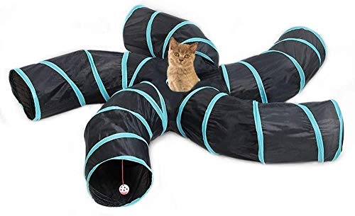 Cat tunnel ball toys 5 copies Cat tunnel folding your answering machine to the cat pet supplies environmental protection tent Nekoasobi cat tunnel
