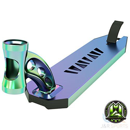 Unbekannt MGP VX8Extreme Scooter Deck nur–Neo chrom