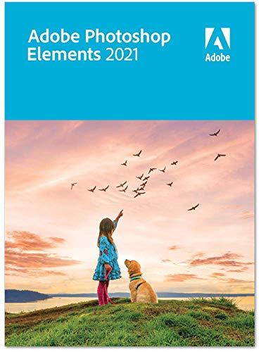 Adobe Photoshop Elements 2021|Retail|1 Gerät|unbegrenzt|PC/MAC|Disc|Disc