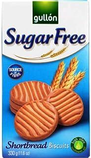 Galletas de mantequilla Gullon sin azúcar 330 g (paquete de 2)