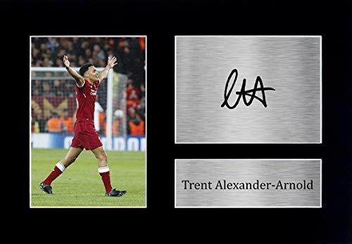 HWC Trading Trent Alexander-Arnold A4 Senza Cornice Firmato Regalo Visualizzazione delle Foto Print Immagine Autografo Stampato per Liverpool Tifosi di Calcio