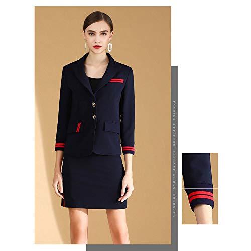 Elegante pak Rok Zakelijke Draag hoogwaardige OL Commuter Suit Dames Jurk