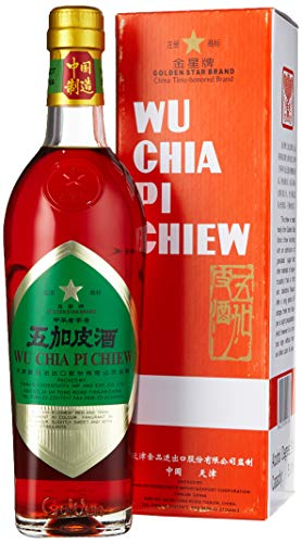 GOLDEN STAR Spirituose 54% vol. (Wu Chia Pi) (1 x 500 ml)