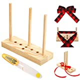 Bow Maker for Ribbon Wreath Wooden Bow Maker Tool with...