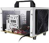 cheaaff Generador Comercial 35 000 MG/h Máquina de ozono y generador de O₃ Purificador Ionizadores de Aire domésticos Desodorizador para Habitaciones Smoke Cars y Mascotas Blanco
