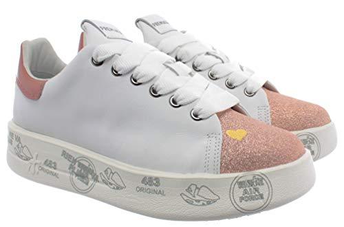 PREMIATA Sneakers Donna Belle 4542 Pelle Bianca