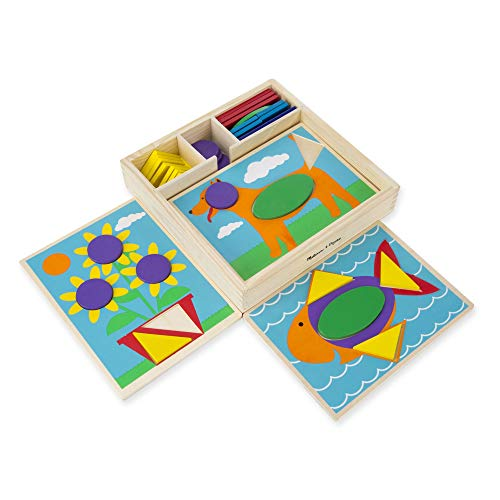 Melissa and Doug Beginner Pattern Blocks gift idea for toddlers