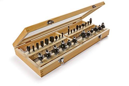 IRWIN 1901049 Marples Master Router Bit Set (30 Piece)
