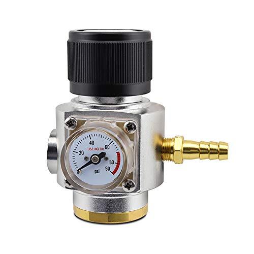 Soda CO2 Mini regulador de gas T214 hilo CO2 Kit de carga de CO2 0-90 PSI Cornelius Keg cargador para barril de cerveza de borrador por PERA
