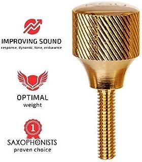 KGUBrass Heavy Saxophone Neck Screws, alto saxophone, tenor saxophone, soprano saxophone, baritone saxophone neck screws Gold Plated