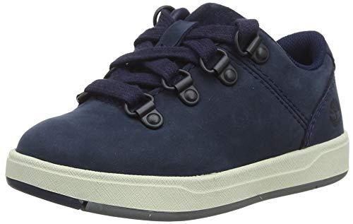 Timberland Davis Square Alpine Oxford (Toddler), Sneakers Basse Unisex-Bambini, Blu Navy Nubuck, 23 EU