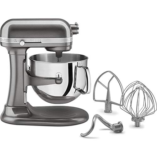 KitchenAid Refurb 7Qt Bwl Lift Stndmx MS (Renewed)