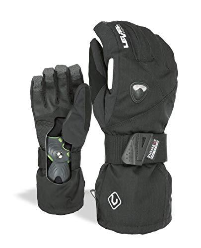 Level Herren Handschuhe Fly, Black, 8,5