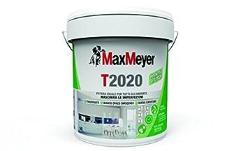 Foto di MaxMeyer Pittura per interni Traspirante T2020 BIANCO 14 L, 10-12 mq/litro